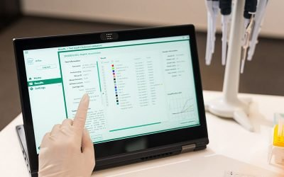 IVD software integrated with qPCR instrument