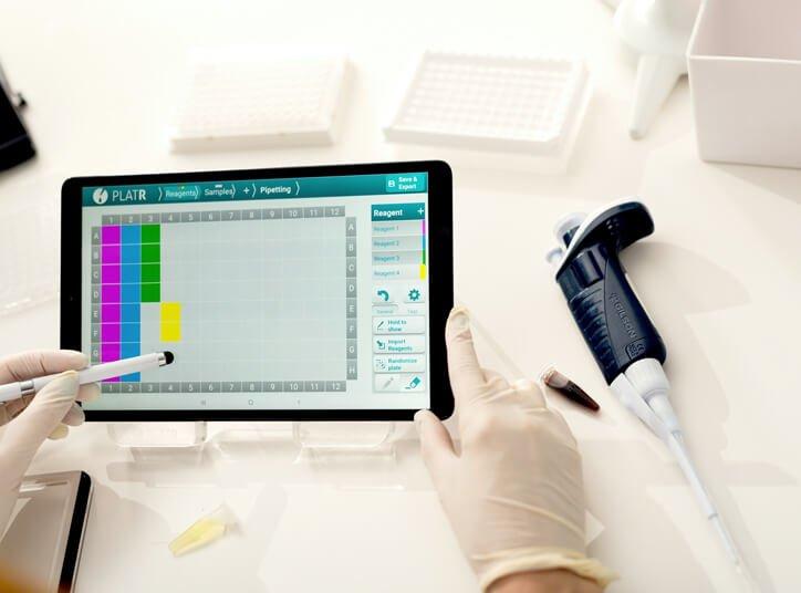 PlatR on the tablet
