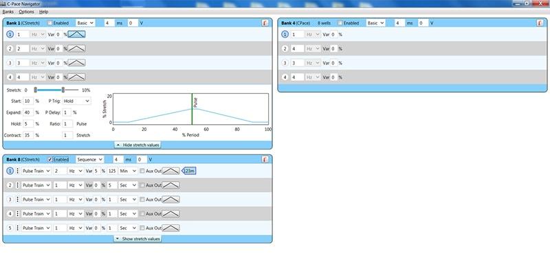 IonOptix software screenshot