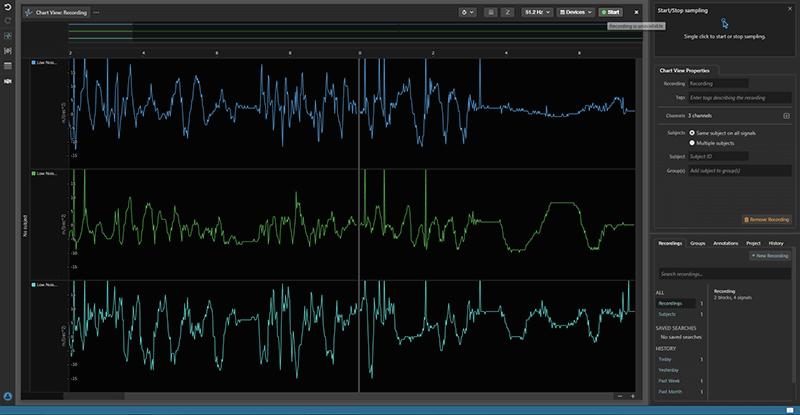 AdInstruments software screenshot