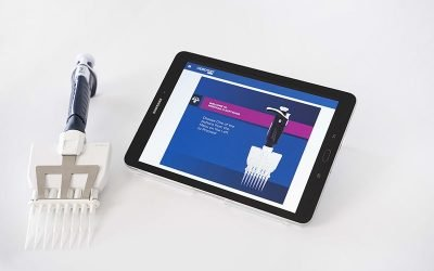 Desktop application integrated with connected pipettes